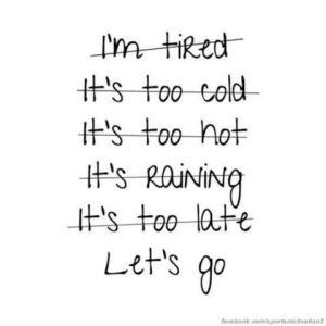 excuses sports