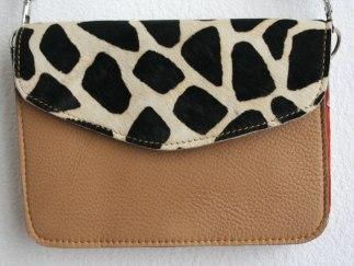 sac à main girafe beige 3