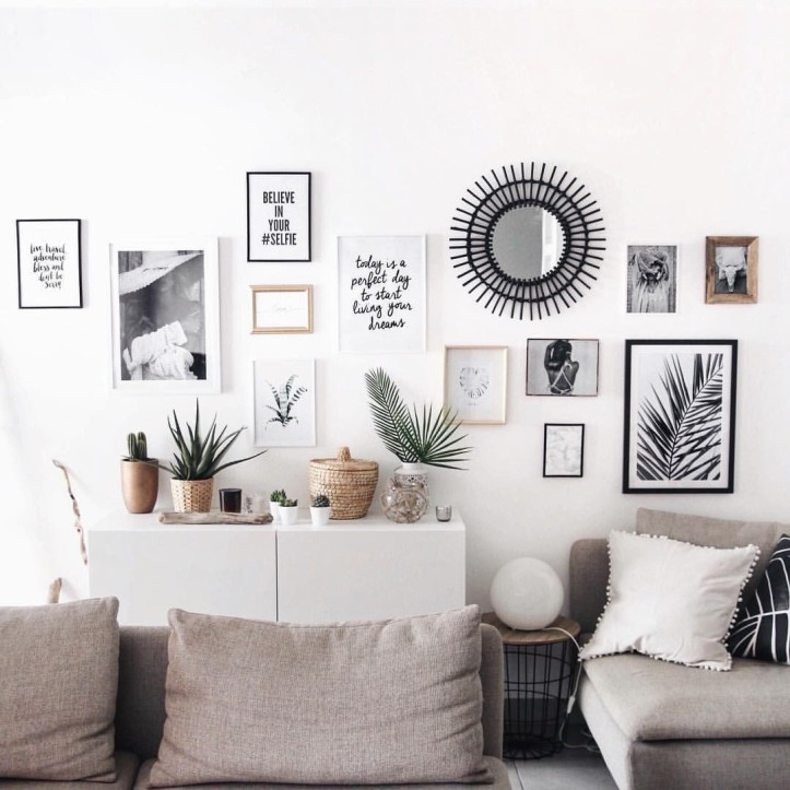 Inspirations d co scandinave merci pinterest - Deco murale scandinave ...